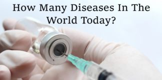 How Many Diseases In The World Today?