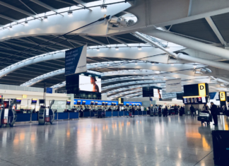 The largest airports in England