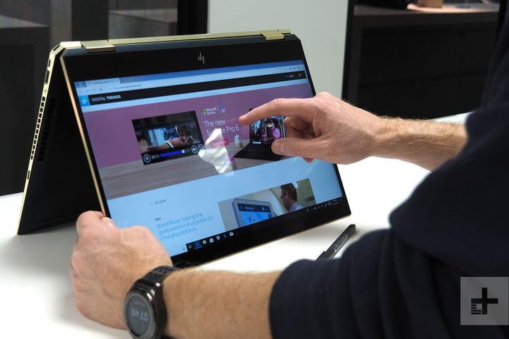 HP Laptops Touchscreen