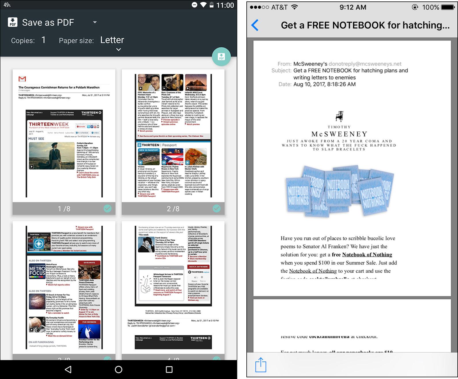 How to make a PDF