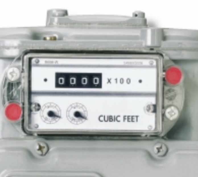 How to read gas meter